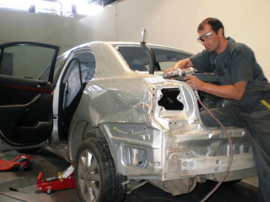 Как вытягивают кузов автомобиля советы и рекомендации
