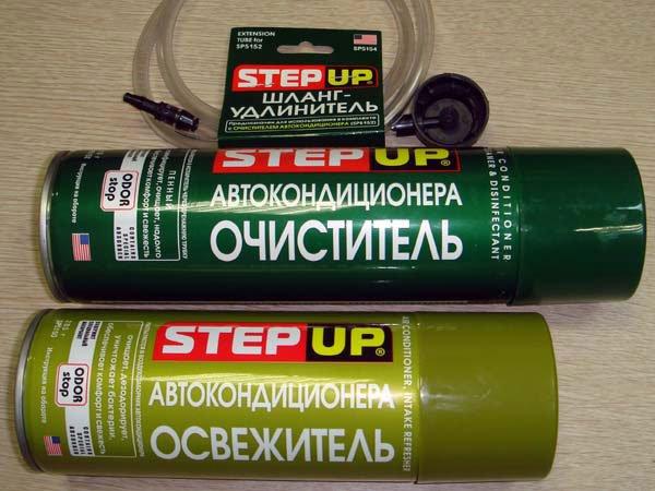 Пена для очистки радиатора кондиционера