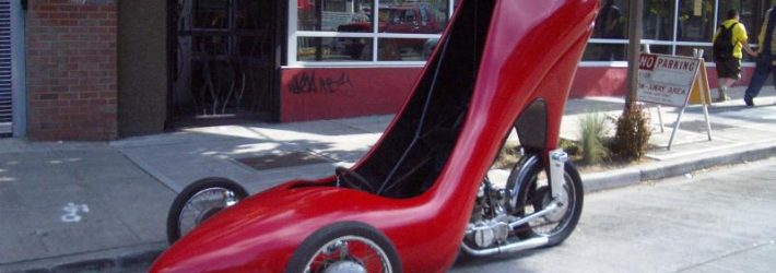 Автомобиль-туфелька