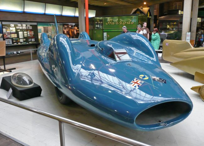 Bluebird CN2 — одна из самых необычных машин в мире
