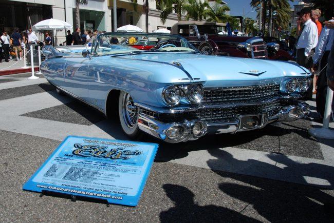 Внешний вид Cadillac Eldorado 1959