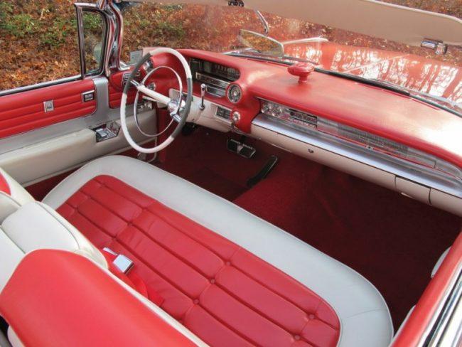 Салон Cadillac Eldorado 1959