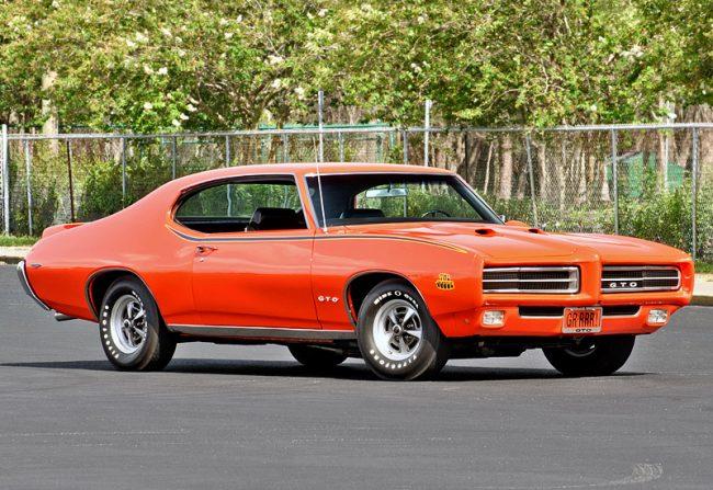 Внешний вид Pontiac GTO Judge Hardtop