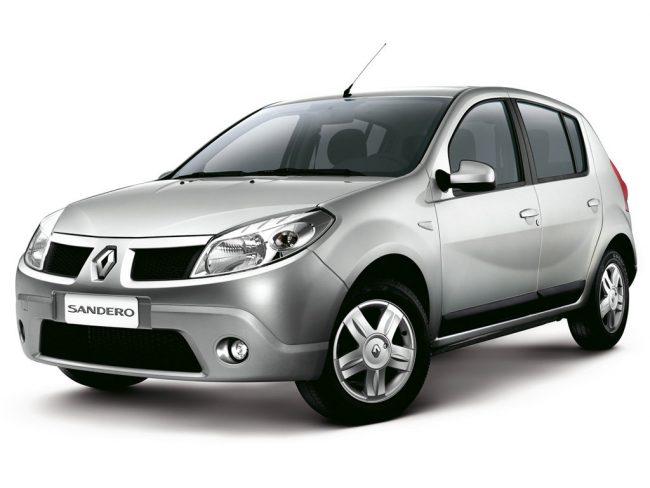 Серый Renault Sandero