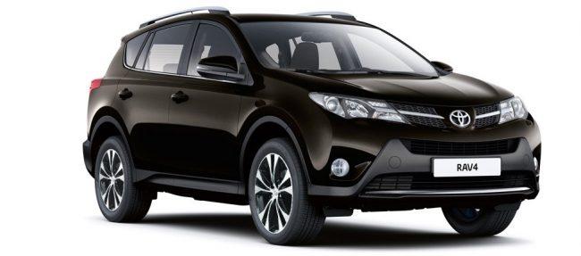 Коричневая Toyota RAV-4