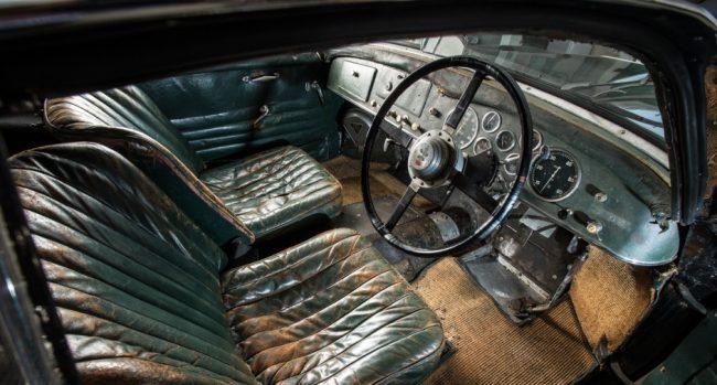 Talbot Lago Grand Sport — салон