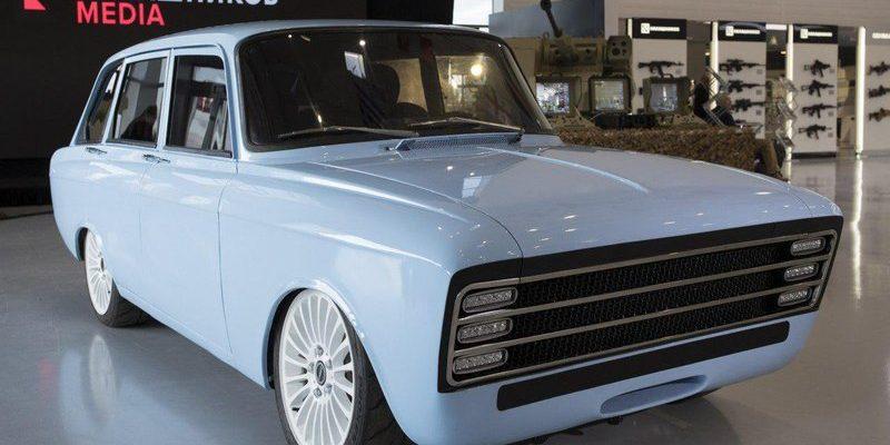 Концепт электромобиля от Калашникова