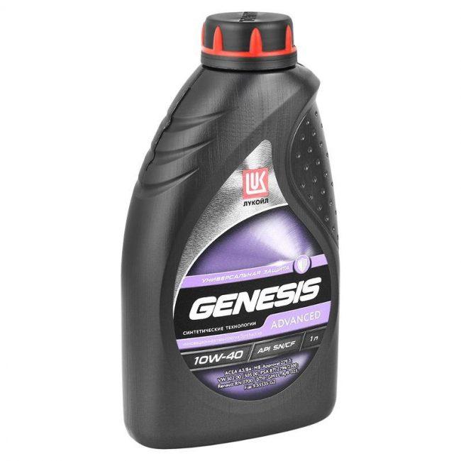 Масло Lukoil GenesisAdvanced 10W-40