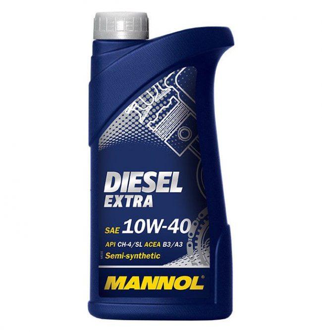 Масло Mannol Diesel Extra 10W-40