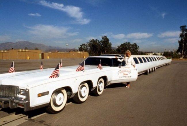 самый длинный автомобиль в мире Американская мечта