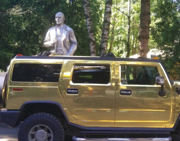 Золотой Hummer Сергея Глушко