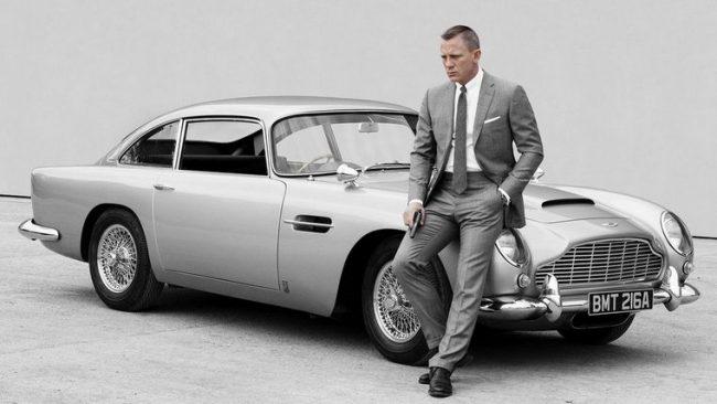 Автомобиль AstonMartin DB5