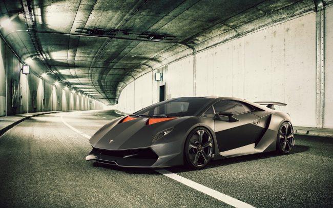 Спорткар Lamborghini Sesto Elemento