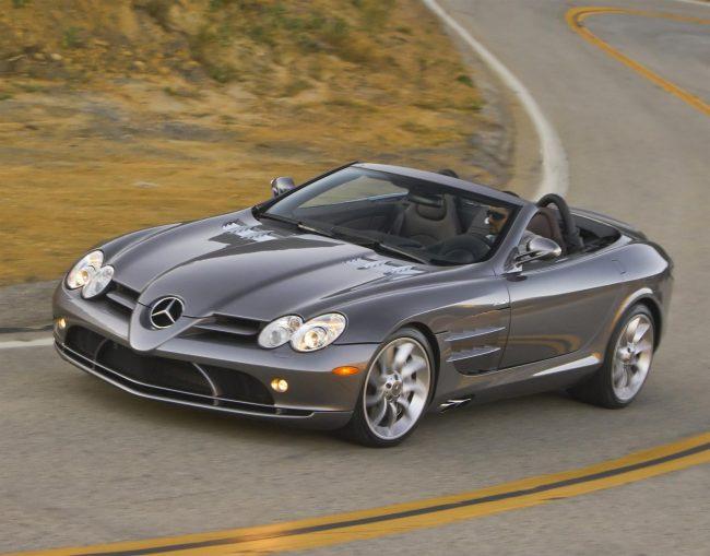 Автомобиль Mercedes-Benz SLR McLaren Roadster R199