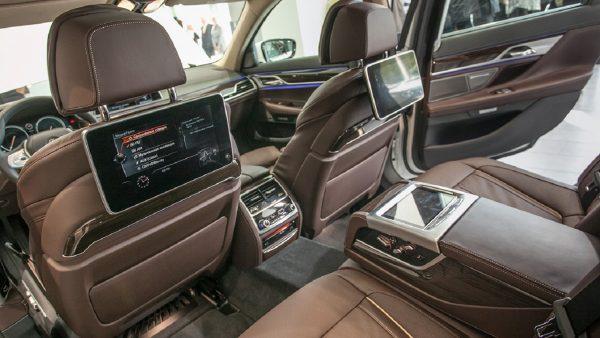 Салон BMW 7