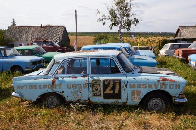 Автокладбище в России