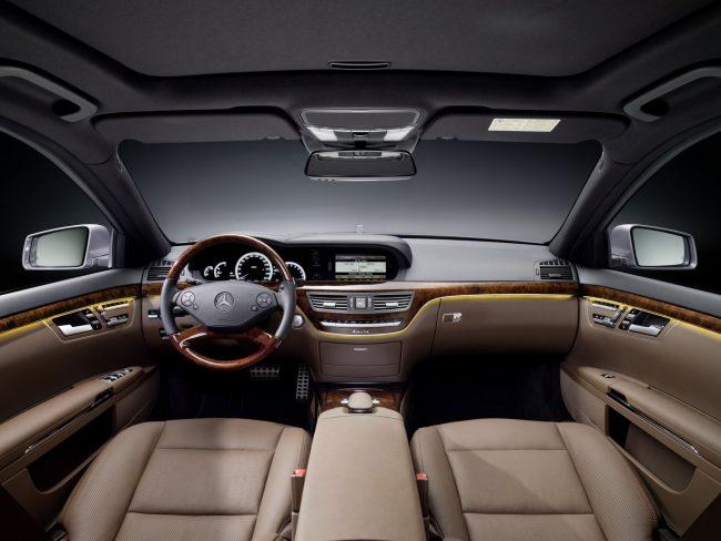 Mercedes S 500 4Matic внутри