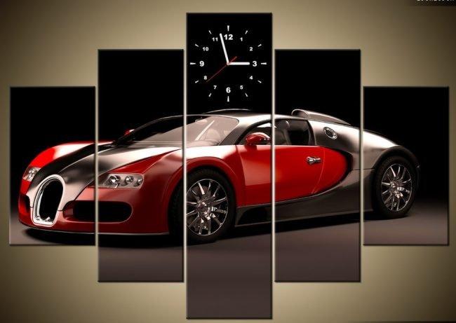 Автомобиль и часы