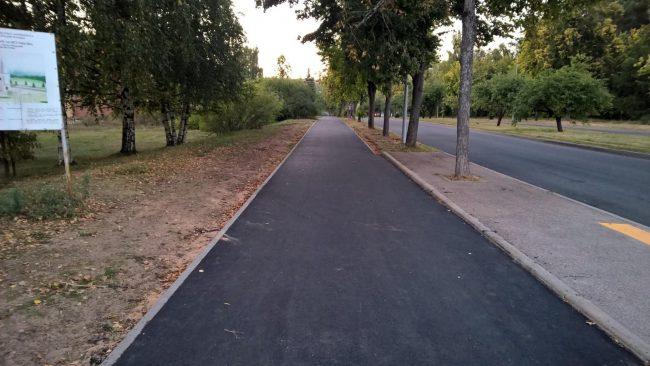 тротуар с газоном