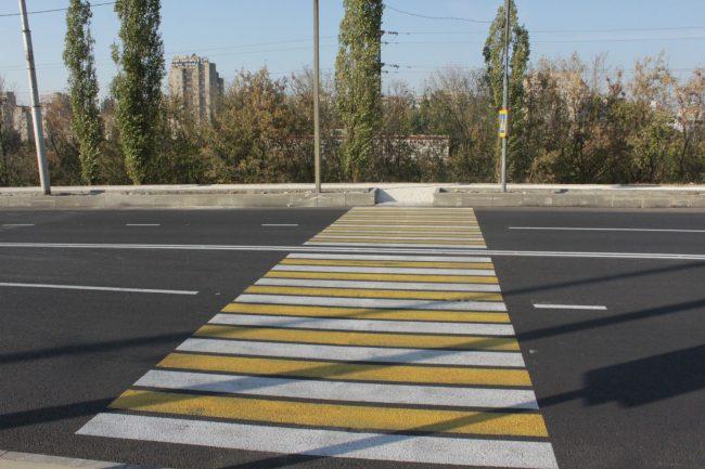 «Зебра» - пешеходный переход