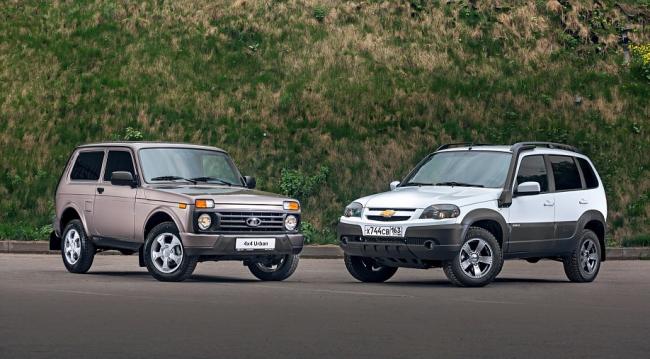 «Нива» и Chevrolet Niva