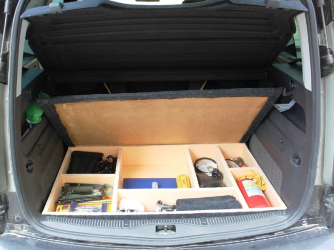 Органайзер в багажнике