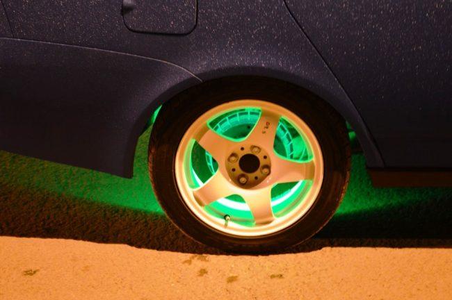 Подсветка диска