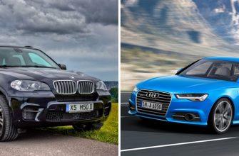 BMW X5 и Audi A6