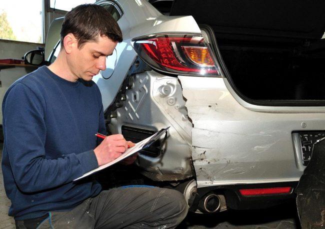 оценка ущерба битой машины
