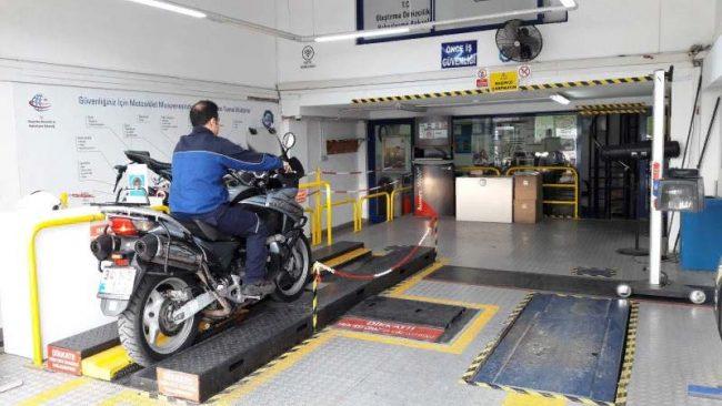 Осмотр технического состояния мотоциклов