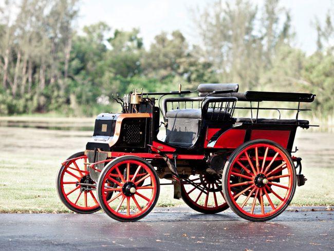 Автомобиль Panhard-4hp 1890–1898 г.в