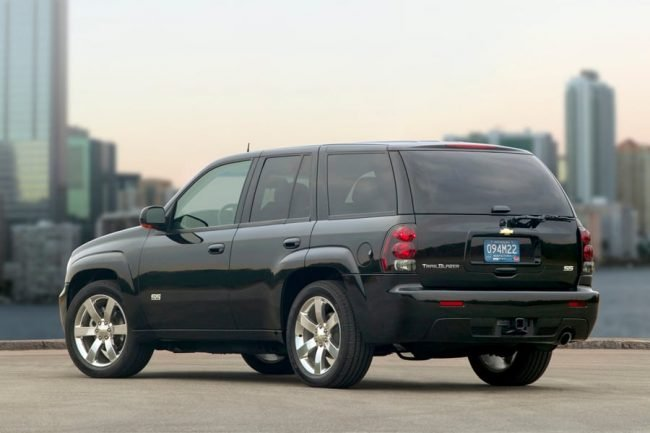 Chevrolet TrailBlazer 2008 года