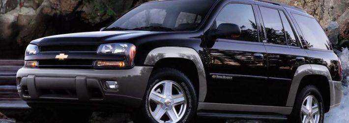 Chevrolet TrailBlazer 2008 года