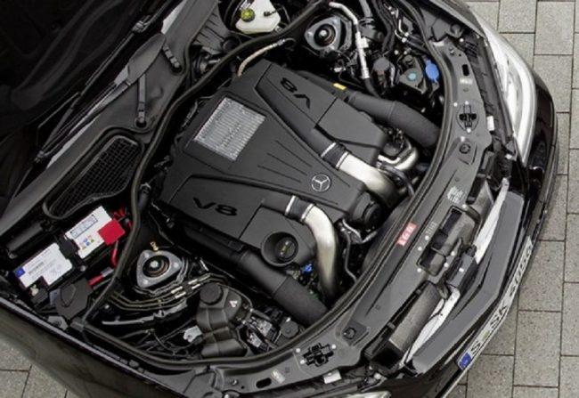 Под капотом Mercedes-Benz S-Class