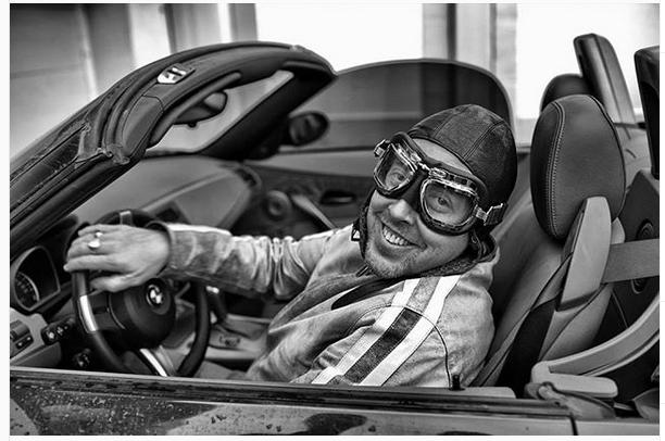 Андрей Макаревич в машине