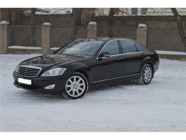 Mercedes Benz S-500