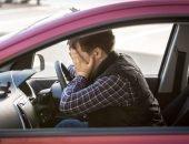 водитель за рулем боится