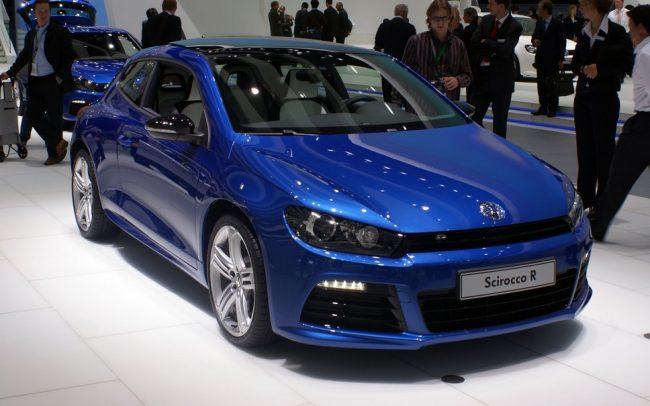 Volkswagen Scirocco третьего поколения