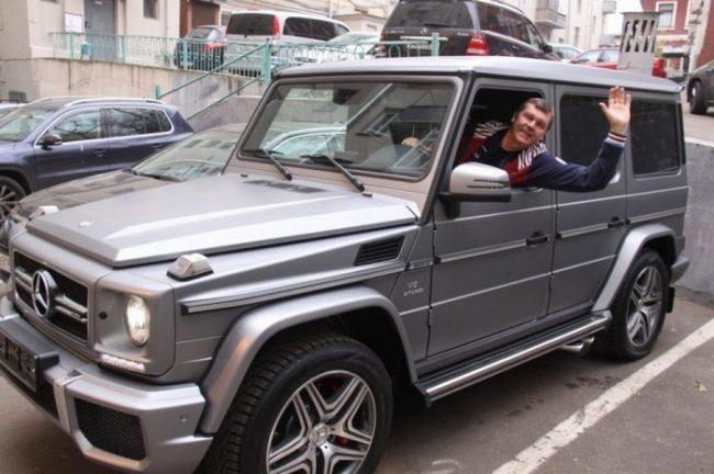 Машина Александра Новикова