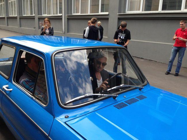 Машина Дмитрия Нагиева