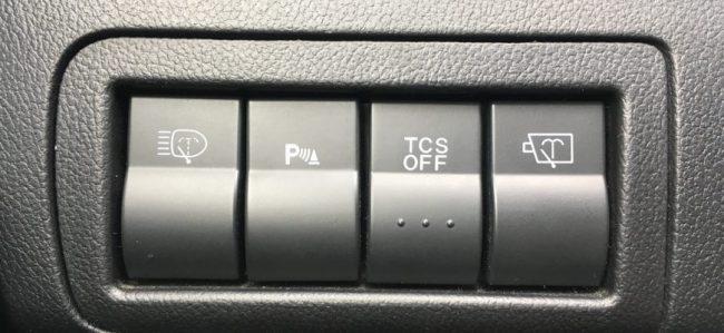 Кнопки на приборке