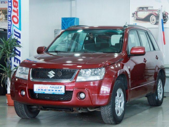 Suzuki Grand Vitara III Рестайлинг 2