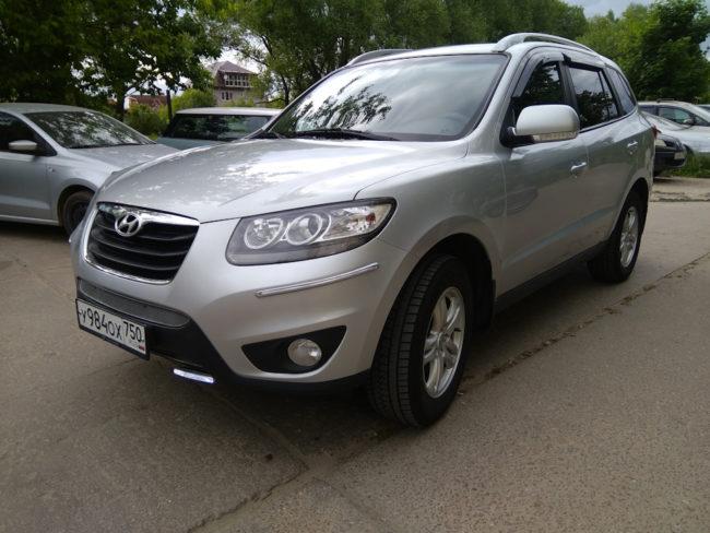 Hyundai Santa Fe II Рестайлинг