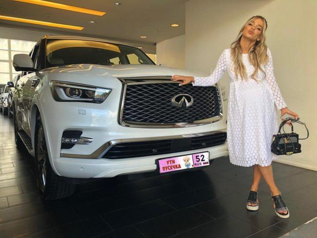 Машина Анны Хилькевич ? на чем ездит актриса из сериала Универ