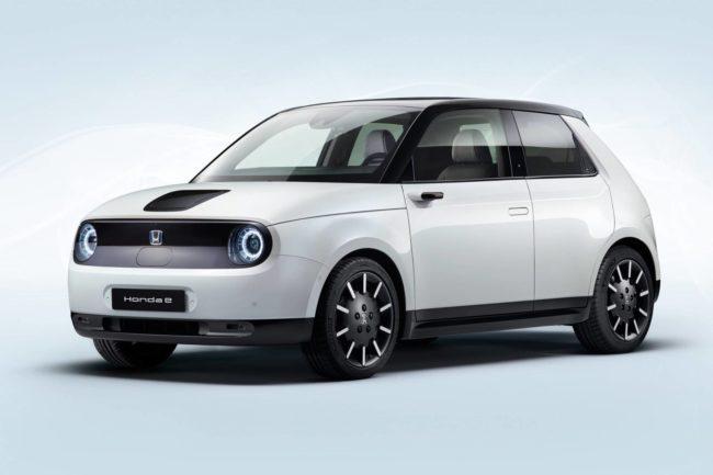 Новая Honda E — фотографии свежей модели