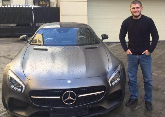 Машины Хабиба Нурмагомедова — на чем предпочитает передвигаться боец UFC